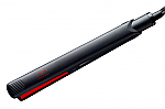 Jose Eber Signature Series 1 Inch Flat Iron- Black/Red